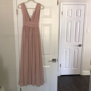 Lulu's long dress. Bridesmaid, occasion, maxi